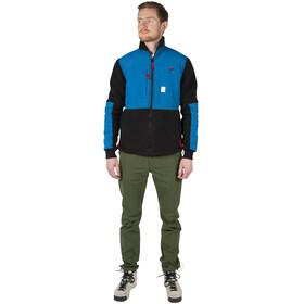 Topo Designs Subalpine Fleece Jas Heren, blue/black